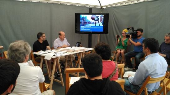 """Presentación del proyecto """"Holistic Sound City""""."""