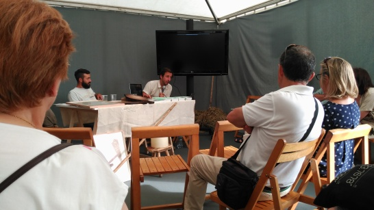 """Presentación de """"Campo Adentro"""" y del proyecto """"Escuela de Pastores""""."""